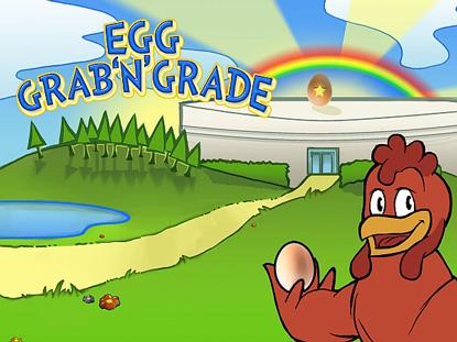 Egg grab'n'grade home screen
